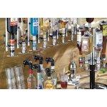 dávkovač nápojov, 2cl, chrómovaný, pre fľaše 33-48 cm bez počítadla, Gihale