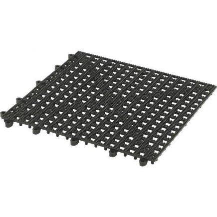 Barová podložka pre poháre Paderno 30x30 cm, čierna