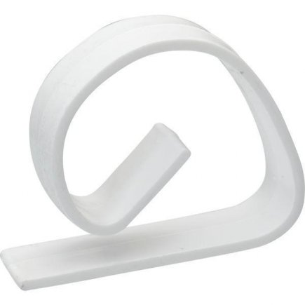 Držiak na obrus plast Gastro, biely