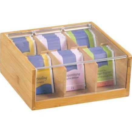 Box na čaj Kesper 22x21 cm