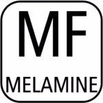 servírovacia gastro tácka melamín obdĺžnik GN 1/2, napr na sushi, APS