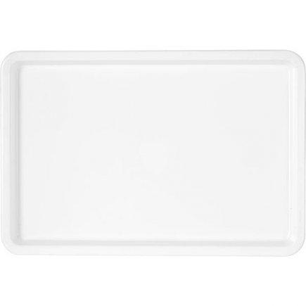 Tácka M-Plast 37x25 cm biela plast