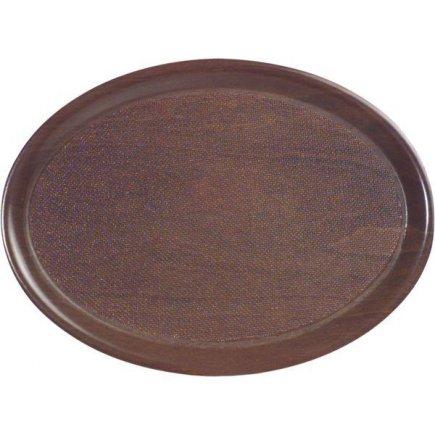tácka, podnos lisované drevo protišmykový 33x23 cm Cambro