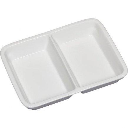 Tanier hranatý dvojdielny 1/2 Gastro 23,2x17,6 cm
