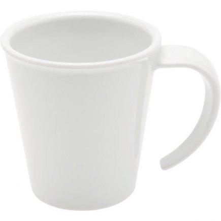 Hrnček na kávu plast Ornamin 350 ml, biely