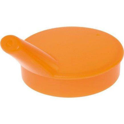 Viečko pre kelímok 229901504 Ornament 7 cm, otvor na pitie 5 mm, oranžová