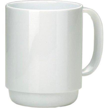 Hrnček plastový Ornamin 350 ml, biely