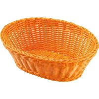 Servírovací košík na pečivo oválny Westmark 18,5x9 cm, oranžový