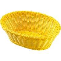 Servírovací košík na pečivo oválny Westmark 18,5x9 cm, žltý