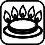 hrniec vysoký s pokrievkou 20 cm pre mikrovlnky, rúry, plyn, elektriku a sklokeramiku, myčky, od-40st do 800st, Pyroflam, darčekové balenie, Gastro