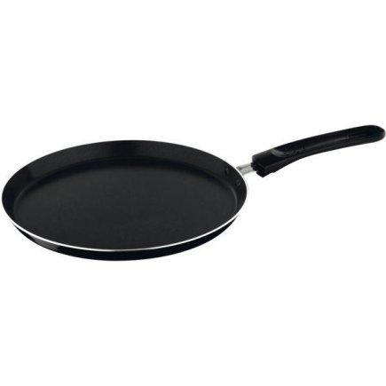 Panvica palacinková, na palacinky, nepriľnavá, hliník, čierna, 250 mm