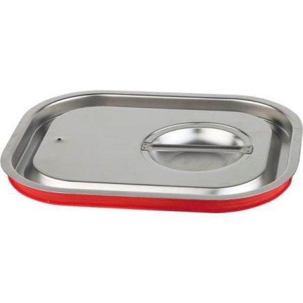 Veko pre gastronádobu 1/2 so silikónovým tesnením, chráni proti striekaniu pri transporte, 265 x 325 mm, do teploty max 180 C, APS