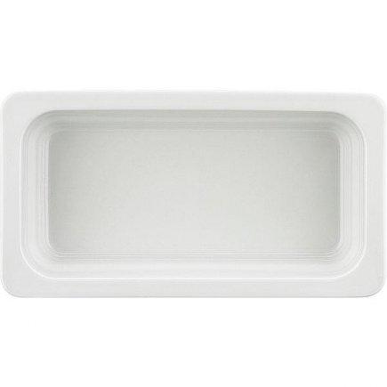 GN gastro nádoba 1/3 , 325 x 176 mm, v = 65 mm, biela, porcelán, SCHÖNWALD