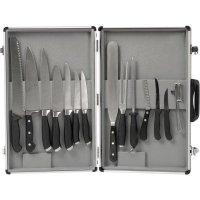 kufrík so sadou Nôž naov, 11 dielov, s magnetickým držadlom, Gastro