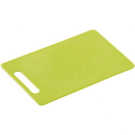 Doštička na krájanie, 240/150/6, kvalitné PVC, vhodné aj do umývačky, zelená, Kesper