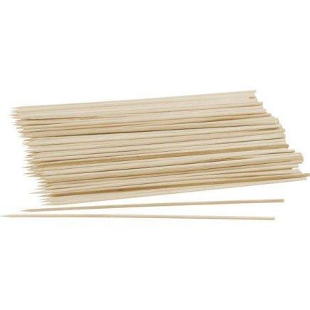 Špajle drevené hrocené Fackelmann 20 cm 100 ks