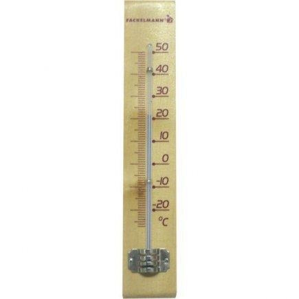 Teplomer izbový drevo Fackelmann -27°C do +50°C