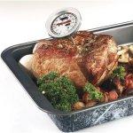 teplomer na pečenie, nerez oceľ, meria vnútornú teplotu mäsa, Westmark