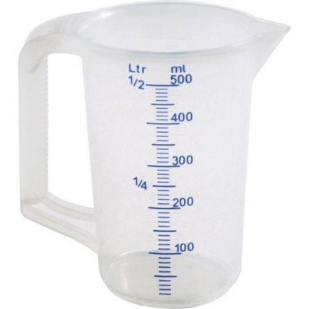 Odmerka plast Schneider 500 ml