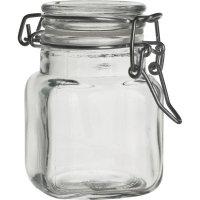 Zaváracie poháre oblúčikový uzáver, 85 ml, 4-hranné Gastro