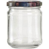 Zaváracie poháre na lekváry, 212 ml, 6ks, viečko ovocie Gastro