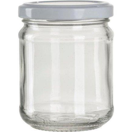 Zaváracie poháre na lekváry, 390 ml, biele viečko Gastro