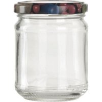 Zaváracie poháre na lekváry, 212 ml, guľaté, viečko ovocie Gastro