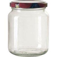 Zaváracie poháre na lekváry, 390 ml viečko ovocie Gastro
