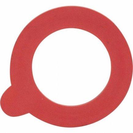 Gumičky na zaváranie sada 10 ks, 80/50mm Gastro, červené