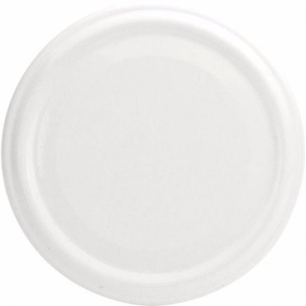 Skrutkovacie viečko biele, priemer 53 mm Gastro