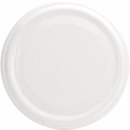 Skrutkovacie viečko biele, priemer 82 mm Gastro