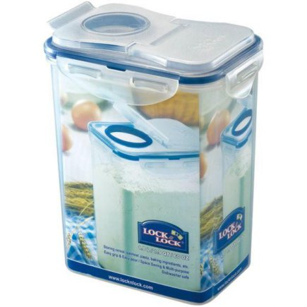 Dóza na potraviny Lock & Lock 1800 ml, s otvorom pre sypanie