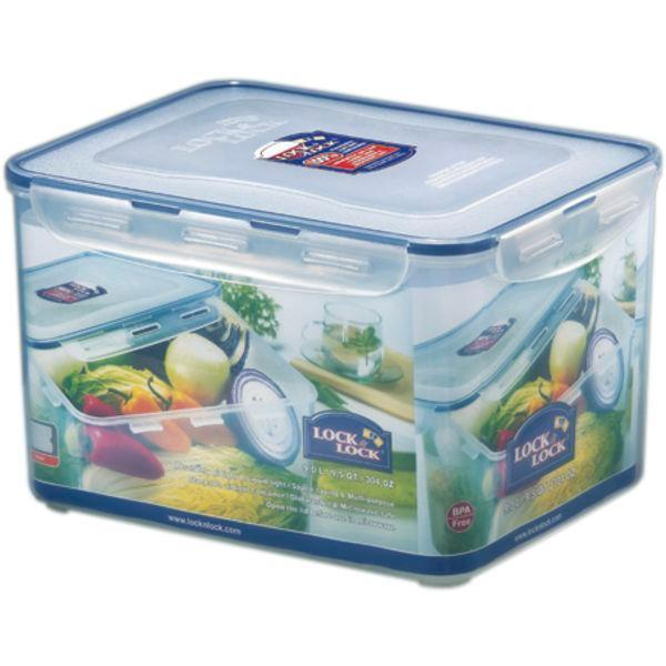Dóza nádoba na potraviny 9 l, Lock & Lock, plast, izoluje vzduch i vlhkosť, vhodný do umývačky aj mikrovlnky, kvalitné silikónové tesnenie