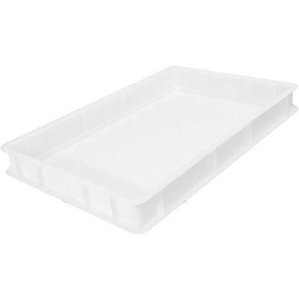 Prepravka plast 13 l 60x40x7 cm, biela