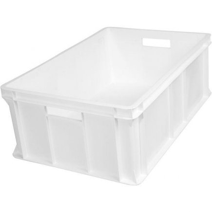 Prepravka plast 40 l 60x40x21 cm, biela