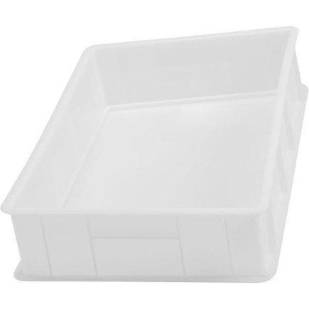 Prepravka plast 25l 60x40x13 cm, biela