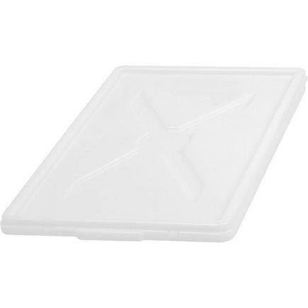 Veko pre prepravku 60x40 cm plast, biele