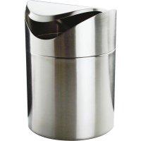 odpadkový kôš na stôl, kyvné veko, nerez, darčekové balenie, na odpadky, APS