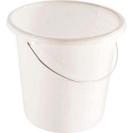 Vedro biely plastový 10,0 l, Gastro