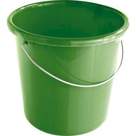 Vedro zelený plastový 10,0 l, Gastro