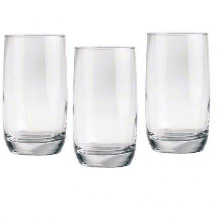 Sada 3 pohárov na long drink Luminarc Vigne 330 ml