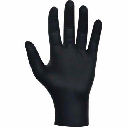 Jednorazové rukavice veľkosť L 80 ks, čierna