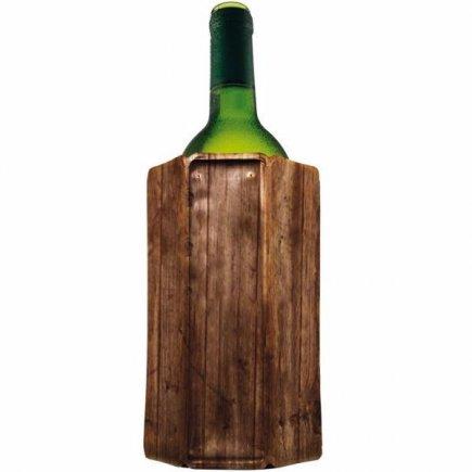 Chladič na víno Vacu Vin Aktiv, drevený vzhľad