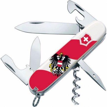 Vreckový nôž Victorinox Spartan Austria, 12 funkcií