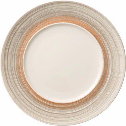 Plytký tanier Villeroy & Boch Amarah 29 cm 18 cm, tmavosivý