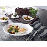 Plytký tanier Villeroy & Boch Artesano 25,5x19,5 cm, šesťhranný