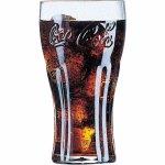 Pohár na nealko Luminarc Coca-Cola Contour 370 ml, 3 ks
