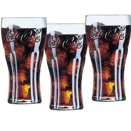 Sada pohárov na nealko Luminarc Coca-Cola Contour 370 ml
