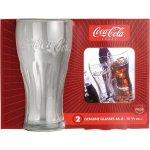 Sada 2 pohárov na nealko Luminarc Coca-Cola Contour 460 ml