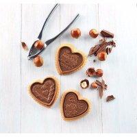 Sada na výrobu lepených sušienok Silikomart Cookie Srdce